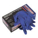 SEALEY DISPOSABLE NITRILE GLOVES